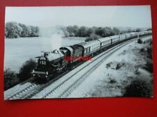 PHOTO  GWR 7029 CLUN CASTLE AT OVER JUNCT 11/9/85 WHITBREAD PULLMAN SPECIAL