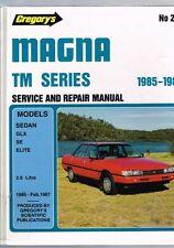 Gregory's Mitsubishi Magna TM Series 1985-1987 Sedan GLX SE Elite 2.6 Litre HB