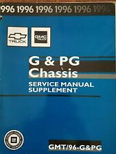 1996 Chevy gmc truck chassis service manual supplement