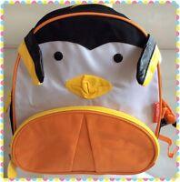 New ChildrensnAnimal Zoo Backpack-Penguin -Kids  School Bag-UK Seller