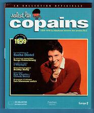 ►SALUT LES COPAINS -COLLECTION OFFICIELLE LIVRE + CD1959 - DISTEL - MORENO
