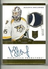 2013-14 Panini Prime MAGNUS HELLBERG Dominion #220 Rookie Patch Autograph #17/25