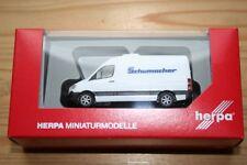 """Herpa 093606 - 1/87 Mercedes-Benz Sprinter Kasten """"Spedition Schumacher"""" - Neu"""