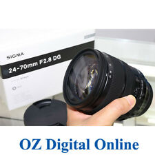 New Sigma 24-70mm F2.8 DG OS HSM Art for Canon EF Mount Lens 1 Year Au Wty