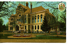 Boise Idaho State Capitol Building-Coat of Arms-Vintage Embossed Postcard
