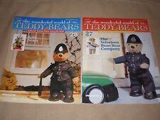 The Wonderful World of Teddy Bears Issue 27 & 28 craft magazine in VGC