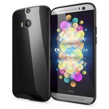 HTC One M8 M8S Hülle Handyhülle von NALIA Ultra-Slim TPU Silikon Case Back Cover