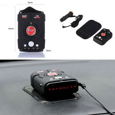 Multi Function Car Radar Detector 360 Degree Voice Warning 16-Band LED Display