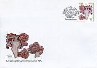 Estonia 2018 FDC Estonian Mushrooms False Morel 1v Set Cover Fungi Nature Stamps