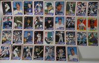 1989 Topps New York Yankees Team Set of 35 Baseball Cards