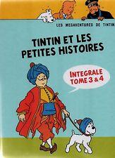 Pastiche Tintin - Tintin et les petites histoires Intégrale tomes 3 et 4.. Cart.