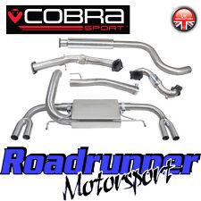"Cobra Astra VXR J MK6 Exhaust System 3"" Turbo Back & Sports Cat Downpipe Res"
