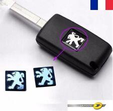 1X Logo Badge Clé Emblème 15MM Clef PEUGEOT 107 207 307 308 407 408 607 1007 Etc