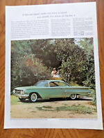 1960 Bel Air Sport Coupe by Chevrolet Ad