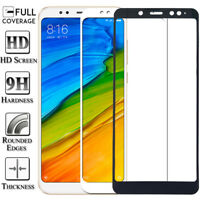 Full Cover Tempered Glass Screen Protector For Xiaomi Redmi 4X 5 6A Note 5 6 Pro