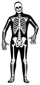 Skeleton Skin Suit Adult Mens Costume Cobra Kai Karate Kid Bodysuit Halloween