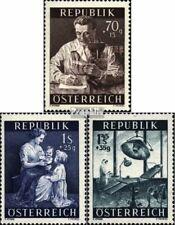 Oostenrijk 1000-1002 gestempeld 1954 Gezondheid