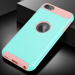 For Apple iPod Touch 5/6/7th Gen Shockproof Impact Rugged Rubber Hard Case Cover