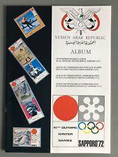 Briefmarken Yemen Arab. Republik, Album Olympische Spiele Sapporo 1972