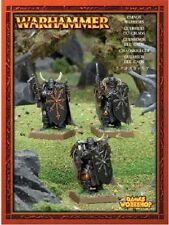 WARRIORS OF CHAOS - WARHAMMER - PUSH FIT-SNAP FIT- 3 MODELS- SENT FIRST CLASS