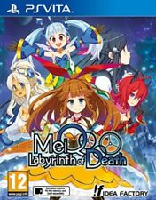 MeiQ: Labyrinth of Death (PlayStation Vita) NEW & Sealed