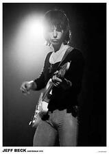 "Jeff Beck poster ""Amsterdam 1972"""