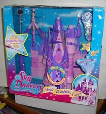 #188 NIB Play A Long Magic Twinkling Castle w/Dolls