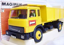 Britains Ltd 1:32 MAGIRUS-DEUTZ Yellow TIPPER DUMP TRUCK #9583 MIB`82 VERY RARE!