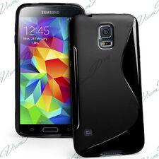 Cover Custodia TPU Silicone NERO Samsung Galaxy S5 Mini G800F G800H / Duos