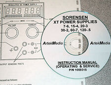 SORENSEN XT Series Power Supplies Instruction Manual