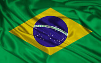 BRAZIL FLAG NEW 3X5ft BRAZILIAN FOOTBALL BANNER better quality satin type