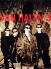 Van Halen 1998 Van Halen 3 Original Promo Poster