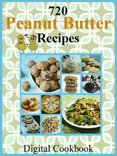 720 Delicious Peanut Butter Recipes E-Book Cookbook CD-ROM