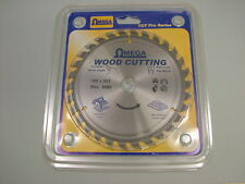 "Circular saw blade wood cross cut carbide tipped 160mm (6.1/4"") 20 bore 30 teeth"