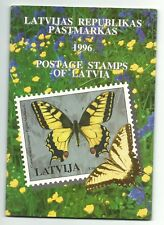 Latvia. 1996. Full year set. 29 stamps and 3souvenir sheets. MNH