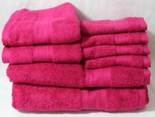 Ralph Lauren Westlake Eight Piece Bathroom Towel Set Solid Phlox New