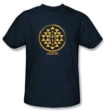 Classic Battlestar Galactica Viper Squadron Gold Shoulder Patch T-Shirt 2Xl New