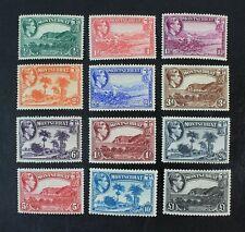 CKStamps: GB Montserrat Stamps Collection Scott#92-103 Mint H OG