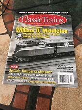 Classic Trains 2011 Spring William Middleton Burl Night Crawler Seatrain