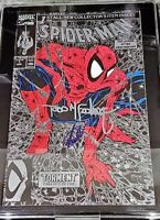 Spider-Man #1 Silver Cover Signed BY STAN LEE, MCFARLANE JSA COA GET CGC 9.8 9.6