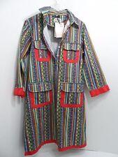 NWT Almatrichi Spain Cotton Womens Dress Size 46 /US 16 - NEW