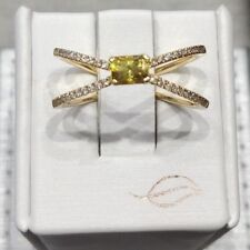 New Parade Design Peridot and Diamond Ring R2167/03-FS