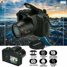 Digital HD SLR Camera 2.4 Inch TFT LCD Screen 1080P Anti-shake sh 16X Zoom J8T8