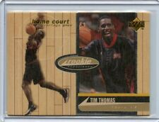 1997-98 UD HOME COURT ADVANTAGE ROOKIE EXPERIENCE #36/500 TIM THOMAS 76ERS  NM