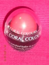 """Coral Colours Love Lips Balm -  Coconut Scented - Shade -""""Peach Sorbet""""."""