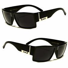 Men Dark Lens Gangster Black Og Sunglasses Locs Biker Glasses Usa New