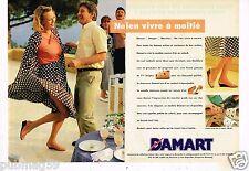 Publicité advertising 1993 (2 pages) Les Chausures escarpins Damart