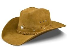 Womens Cowboy Hat Texas Stetson Hats Gilrs Western Sand Cowgirl American Leather