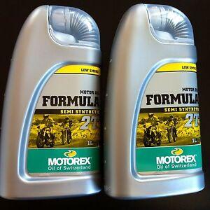 Motorex Formula 2T Semi Synthetic engine oil 2 bottles