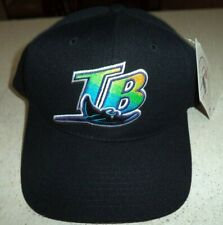 Tampa Bay Devil Rays Throwback Black Snapback Baseball Cap Hat New W/ Tags